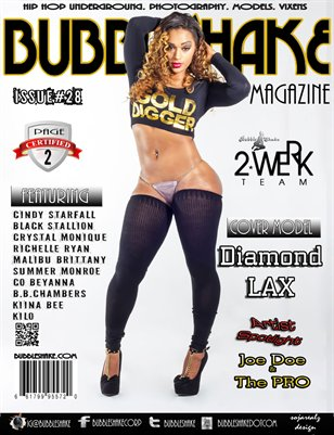 Bubble Shake Magazine Issue #28 Page 2-Diamond LAX