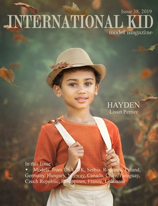 International Kid Model Magazine Issue #38