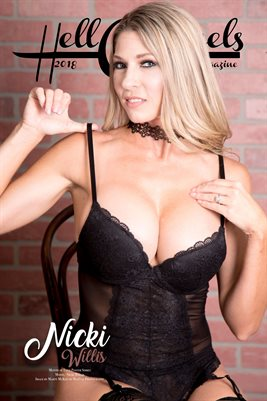 2018 Hell on Heels Magazine Month of Love Poster series Nicki Willis