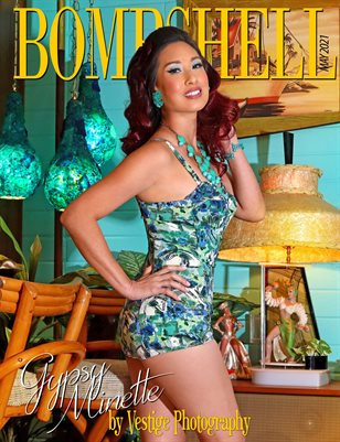 BOMBSHELL Magazine May 2021 BOOK 2 - Gypsy Minette Cover