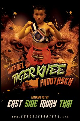 Michael Phoutasen Tiger Eyes Poster