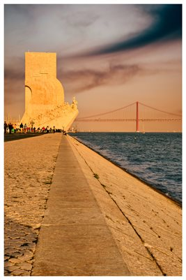 Poster - Monument Of The Discoveries, Lisbon