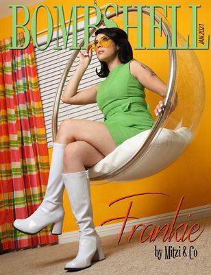BOMBSHELL Magazine January 2021 - Frankie Cover