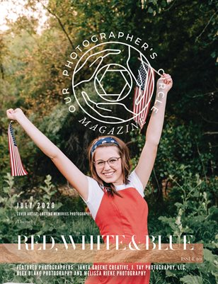 Our Photographers Circle Magazine Issue 10 RED, WHITE AND BLUE