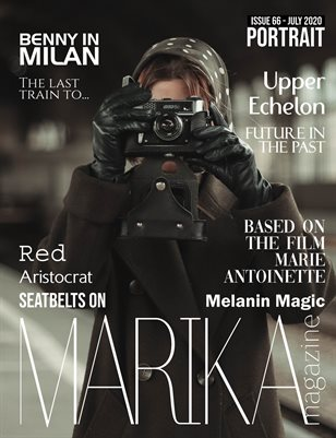 MARIKA MAGAZINE PORTRAIT (July - issue 66)