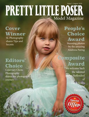 Pretty Little Poser Model Magazine - August 2020 - Issue 3