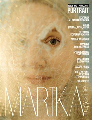MARIKA MAGAZINE PORTRAIT (ISSUE 842 - APRIL)