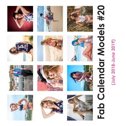Fab Calendar Models 20