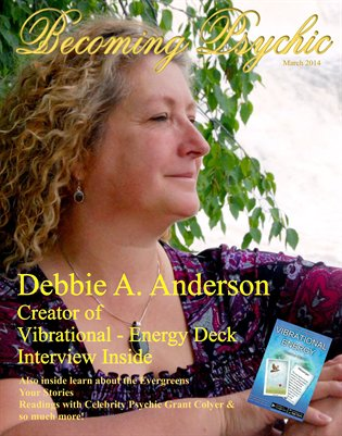 Becoming Psychic Magazine March edition 2014
