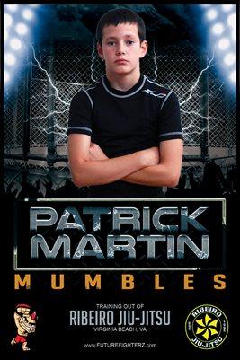 Patrick Martin Cage Lightning Poster