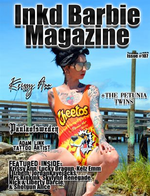 Inkd Barbie Magazine Issue #107 - Krissy Ann
