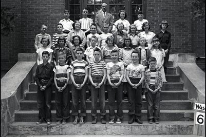 May 10 1951 6th Grade, Washington School, Graves County, Kentucky