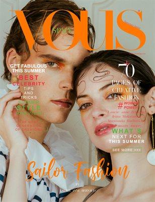 VOUS Magazine | The June Fashion & Beauty Edition | Vol.4 | 2021