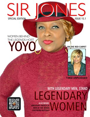 Sir Jones Magazine:: Issue 15.1 :: Legendary Women