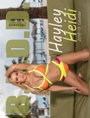 Hayley Bray 2018-19 Mega Calendar