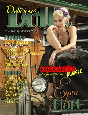 Delicious Dolls September 2013 pageant Winner cover - Eyva Mort