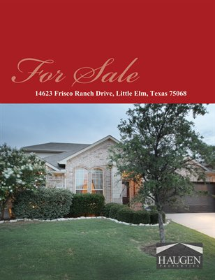 14623 Frisco Ranch Drive, Little Elm,  Texas 75068