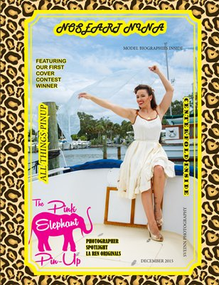 The Pink Elephant Pinup Magazine All Things Pinup Issue
