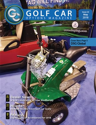 Golf Car Options Magazine - May 2018
