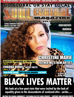 Soul Central Magazine Edition #103 Christine Marie