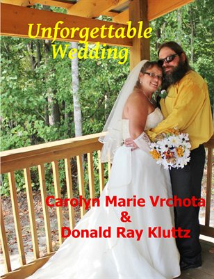 Kluttz & Vrchota Wedding Magazine