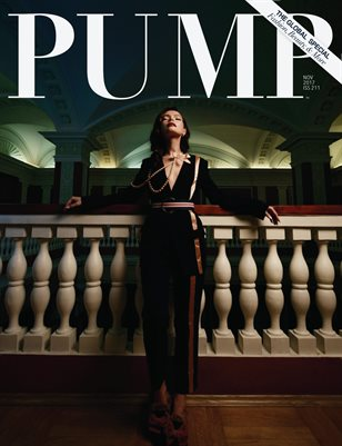 PUMP Magazine - The Global Beauty Edition Featuring Photographer  Alexandr Mukhin