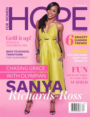 2017 Summer with Sanya Richard-Ross