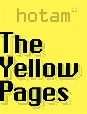 hotam#12 - The Yellow Pages
