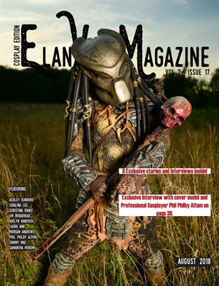 Elan Vital Magazine August 2018 Predator Cover