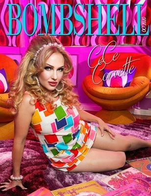 BOMBSHELL Magazine October 2020 - BOOK 1 CeCe Corvette Cover