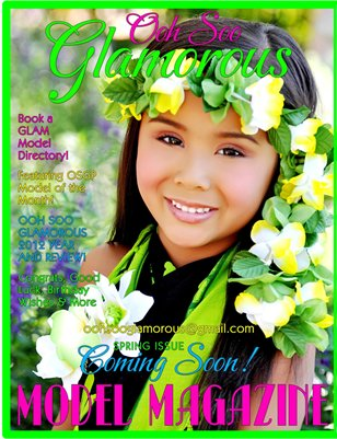 OOH SOO GLAMOROUS MODEL MAGAZINE ARIZONA GIRLZ ISSUE Vol 1