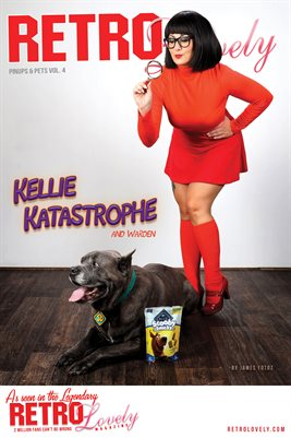 Kellie Katastrophe and Warden Cover Poster