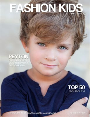 Fashion Kids Magazine | OCTOBER 2018 TOP 50