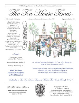 The Tea House Times Sept/Oct 2011 Issue