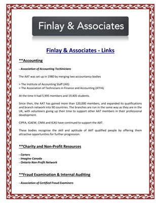 Finlay & Associates - Links
