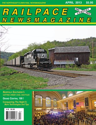 APRIL 2013 Railpace Newsmagazine