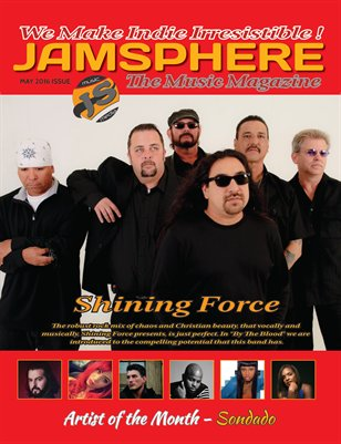 Jamsphere Indie Music Magazine May 2016