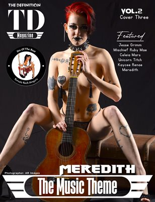 The Definition of Music: Meredith Vol.2 Cover 3