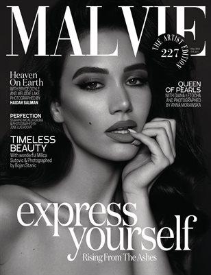 MALVIE Magazine The Artist Edition Vol 227 May 2021