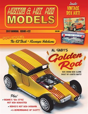 Kustom and Hot Rod Models 22 - 2017 Annual