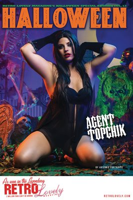 Halloween 2021 Vol.13 – Agent Topchik Cover Poster