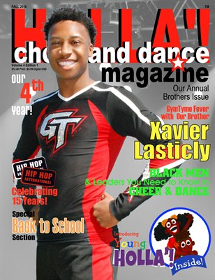HOLLA'! Cheer and Dance Magazine Fall 2016 Issue
