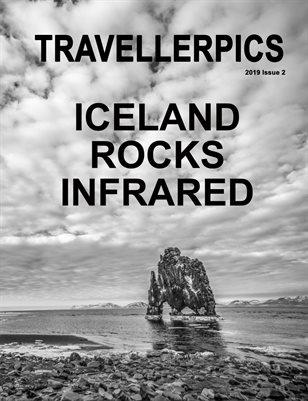 Iceland Rocks Infrared