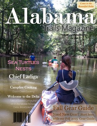 Alabama Trails Magazine FALL 2015