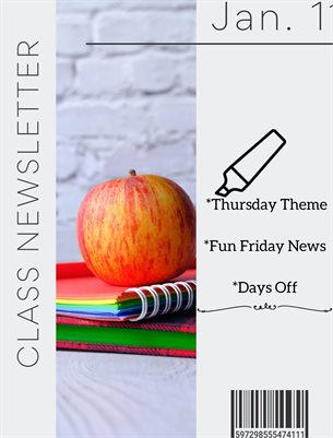 Jan 11 21  Class Newsletter
