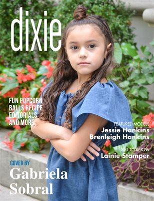 Dixie Magazine - September 2017 Cover Model Zoe Luna