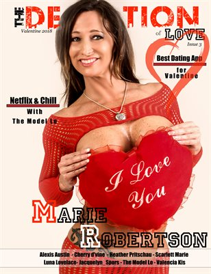 The Definition of LOVE: Valentine's Day issue 3: Cover Models Marie Robertson
