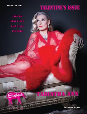 The Pink Elephant Pinup Valentine's Issue 2017
