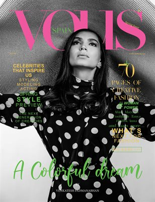 VOUS Magazine | The April Fashion & Beauty Edition | Vol.5 | 2021