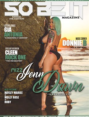SO BE IT MAGAZINE ISSUE 46 (MIZZ JENN DAWN)